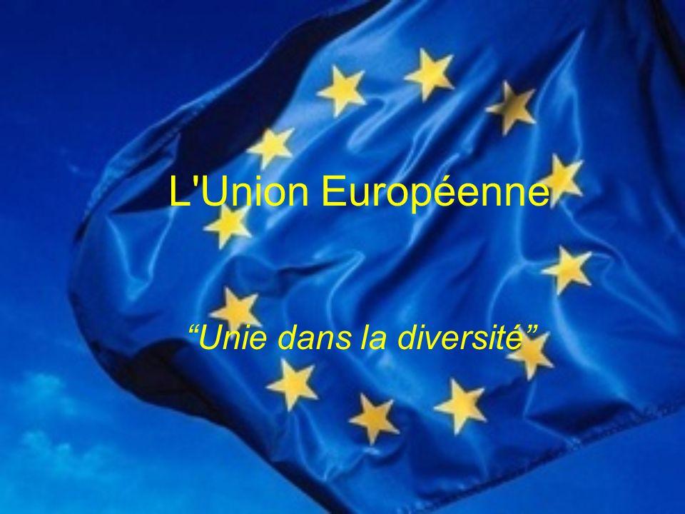 L Union Européenne Unie dans la diversité