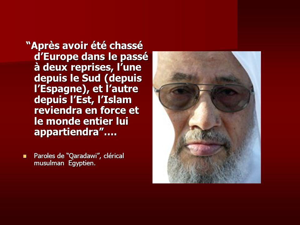 Nous avons 50 millions de musulmans en Europe..