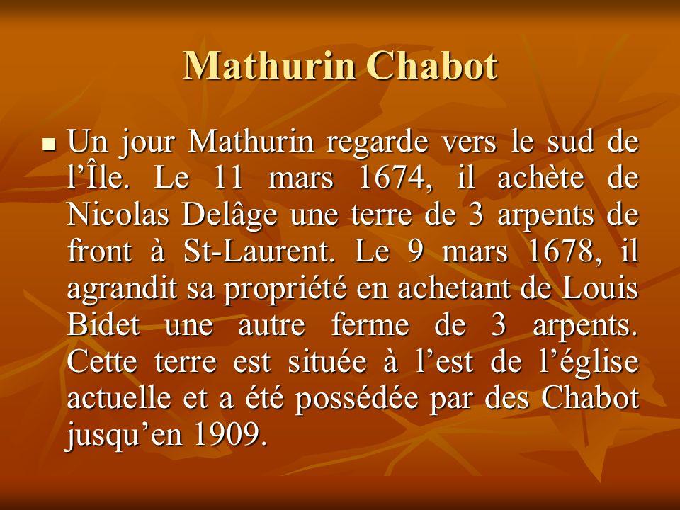 Mathurin Chabot Un jour Mathurin regarde vers le sud de lÎle.