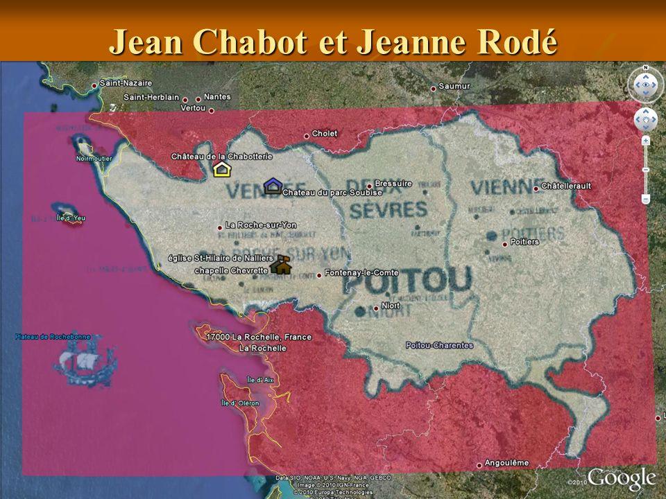 Mathurin Chabot Mathurin Chabot naquit à Saint-Hilaire de Nalliers, évêché de Luçon, au Poitou, Vendée, en France le 18 août 1637.