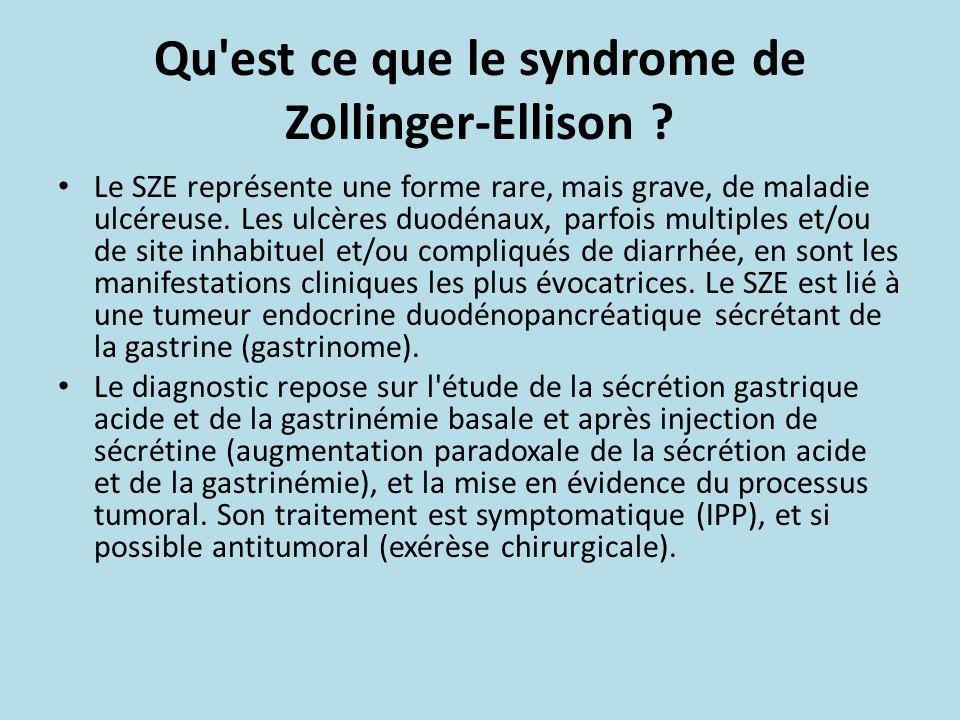 maladie de zollinger ellison
