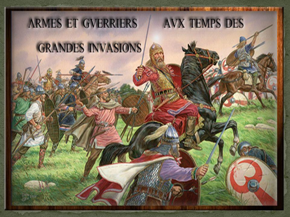 Les Germains et les derniers Gallo-Romains vont unir leurs forces et les vaincre en 451, lors de la bataille des champs catalauniques.