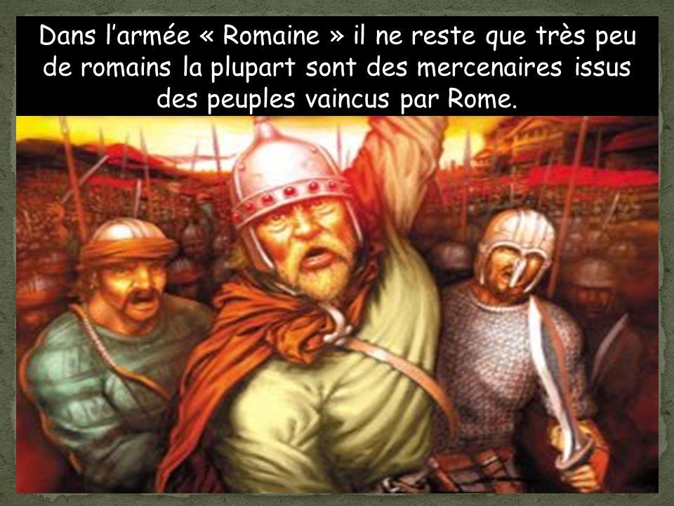 Un général Romain Syagrius continue de gouverner un morceau du pays.