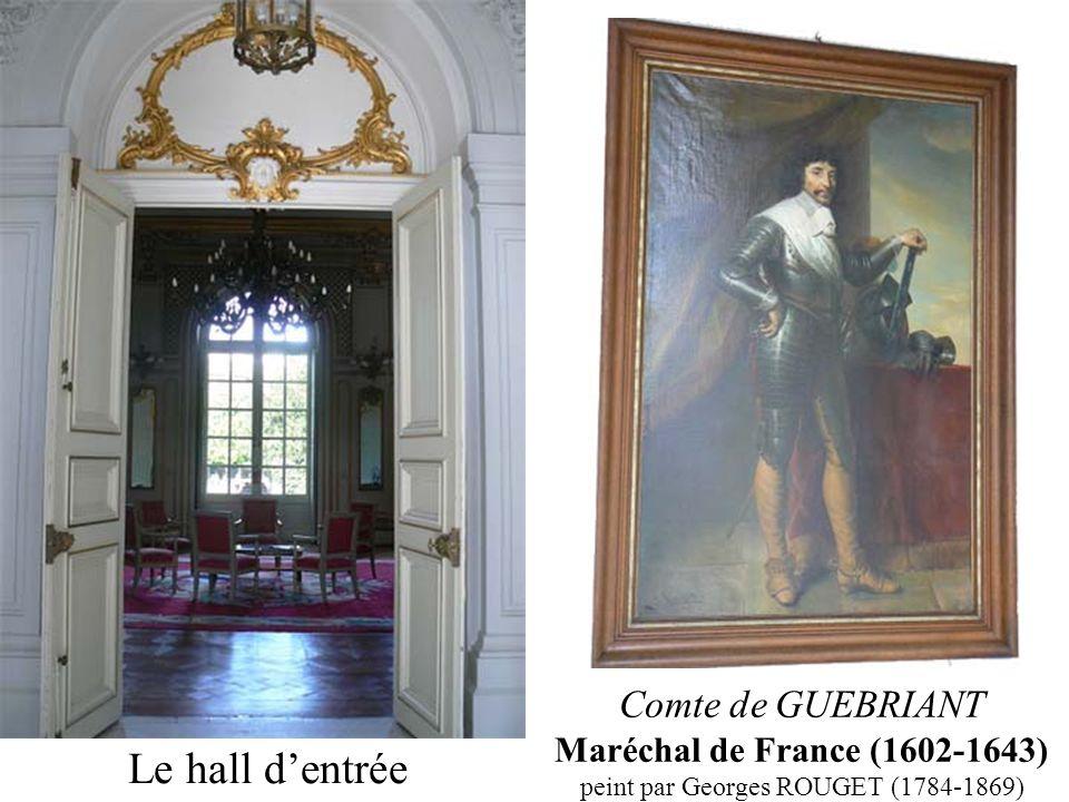 Le hall dentrée Comte de GUEBRIANT Maréchal de France (1602-1643) peint par Georges ROUGET (1784-1869)