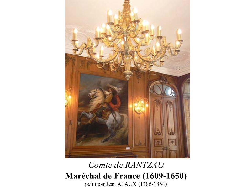 Comte de RANTZAU Maréchal de France (1609-1650) peint par Jean ALAUX (1786-1864)