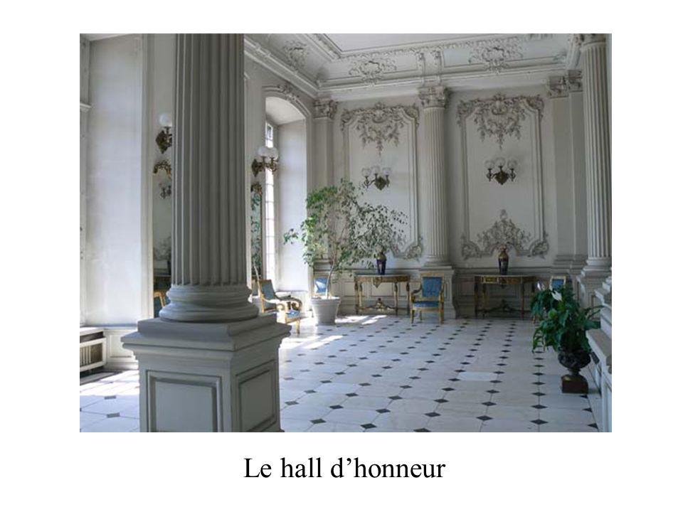 Le hall dhonneur