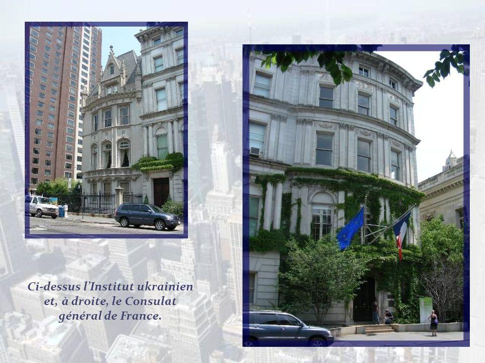 Ce qui me frappe beaucoup sur cette avenue, cest la profusion de magnifiques immeubles du début du XXe siècle.