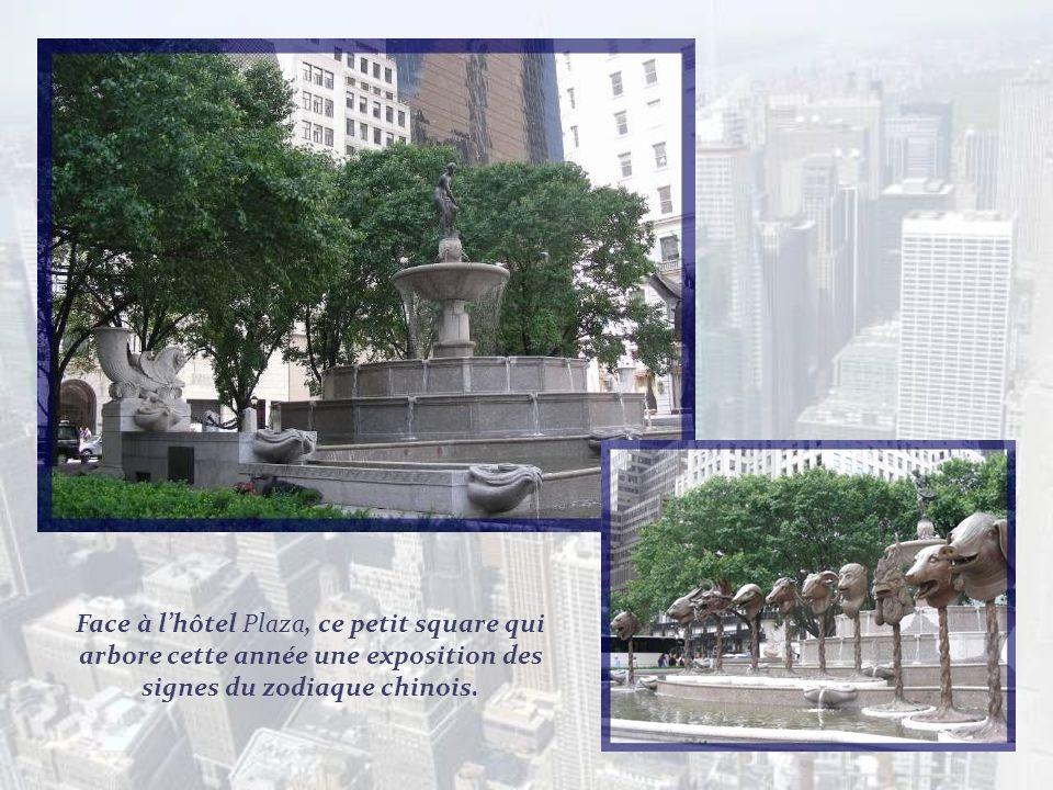 Le bien connu hôtel Plaza naquit en 1907 du rêve de trois hommes : le financier Bernhard Beinecke, lhôtelier Fred Sterry et le Président de la Fuller