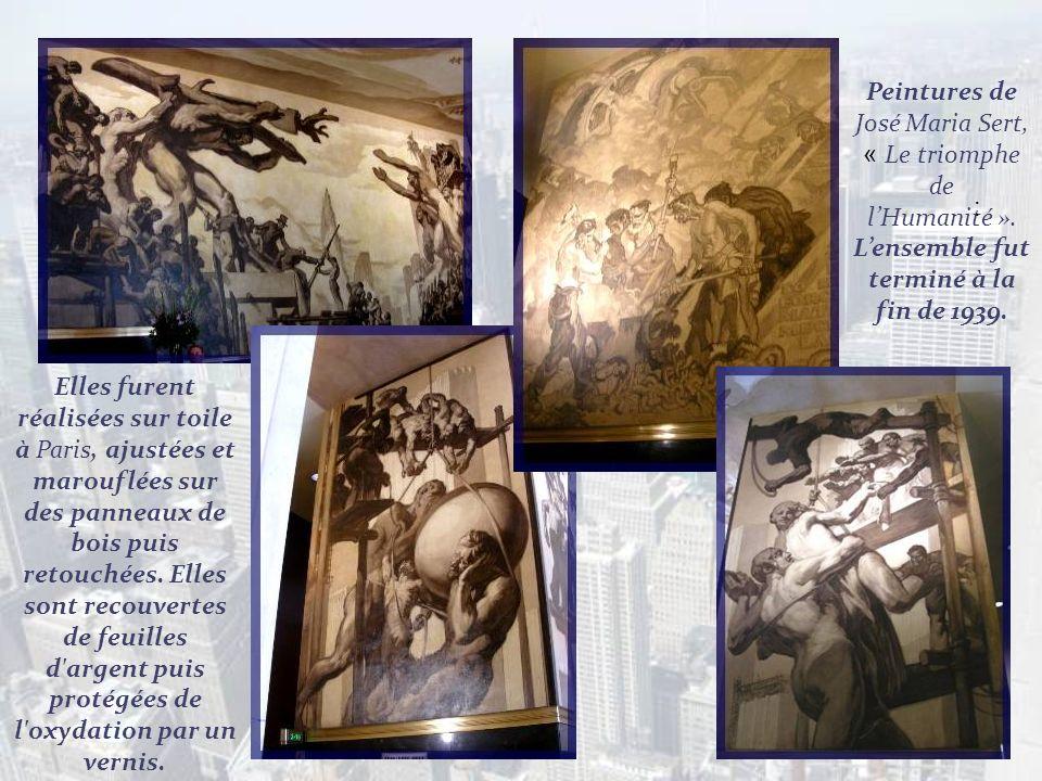 En 1932, John D. Rockfeller souhaita orner lentrée de limmeuble avec des grandes murales. Il sadressa aux plus grands artistes du temps : Henri Matiss