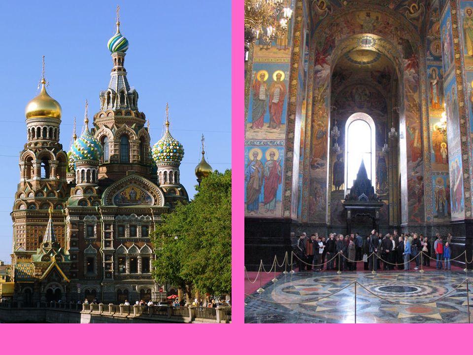 Eglise du Saint-Sauveur-sur-le-Sang-Versé Saint Petersbourg La Cathédrale Saint-Sauveur-sur-le-Sang-Versé (Храм Спаса на Крови) est l'une des principa