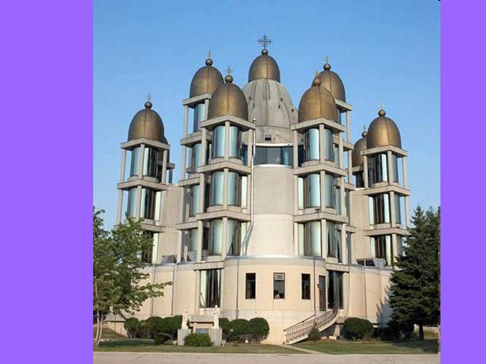 Église St. Joseph à Chicago Elle est connue pour son toit à 13 dômes dorés Saint-Joseph le Promis est une église catholique grecque-ukrainienne Constr