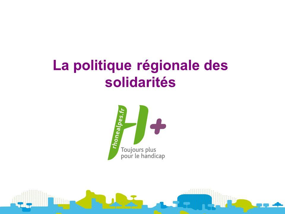 La politique régionale des solidarités