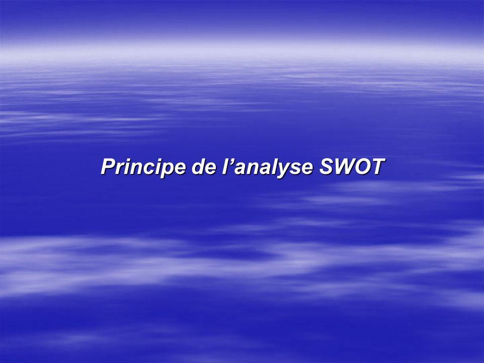 Tableau SWOT élaboré à partir des documents stratégiques de la Commission Européenne 2002, pour lévaluation de la Tanzanie Europe Aid (2005 ForcesFaib