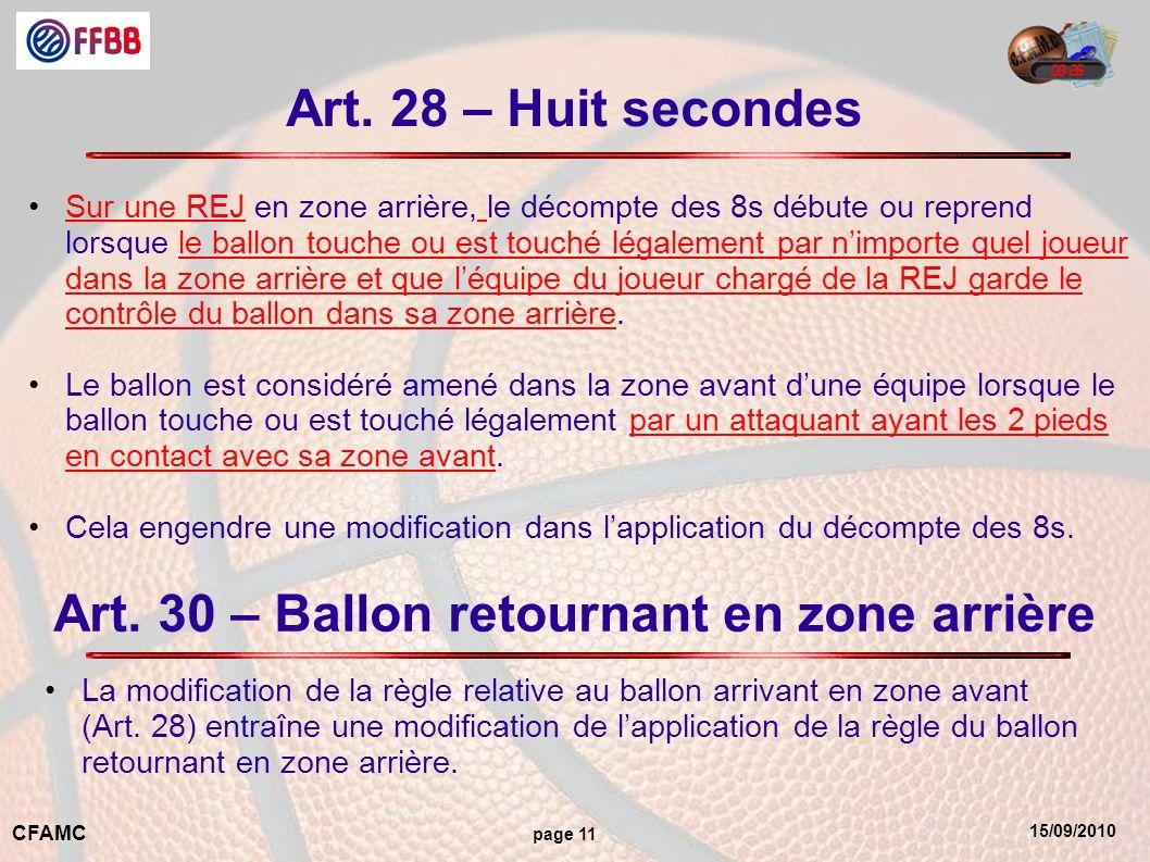 15/09/2010 CFAMC page 11 Art.