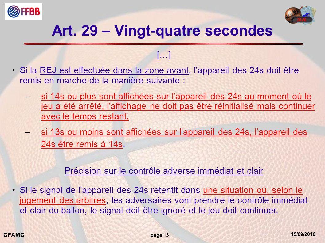 15/09/2010 CFAMC page 13 Art.