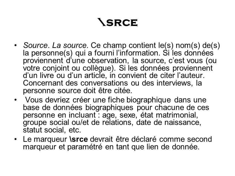 \srce Source. La source.