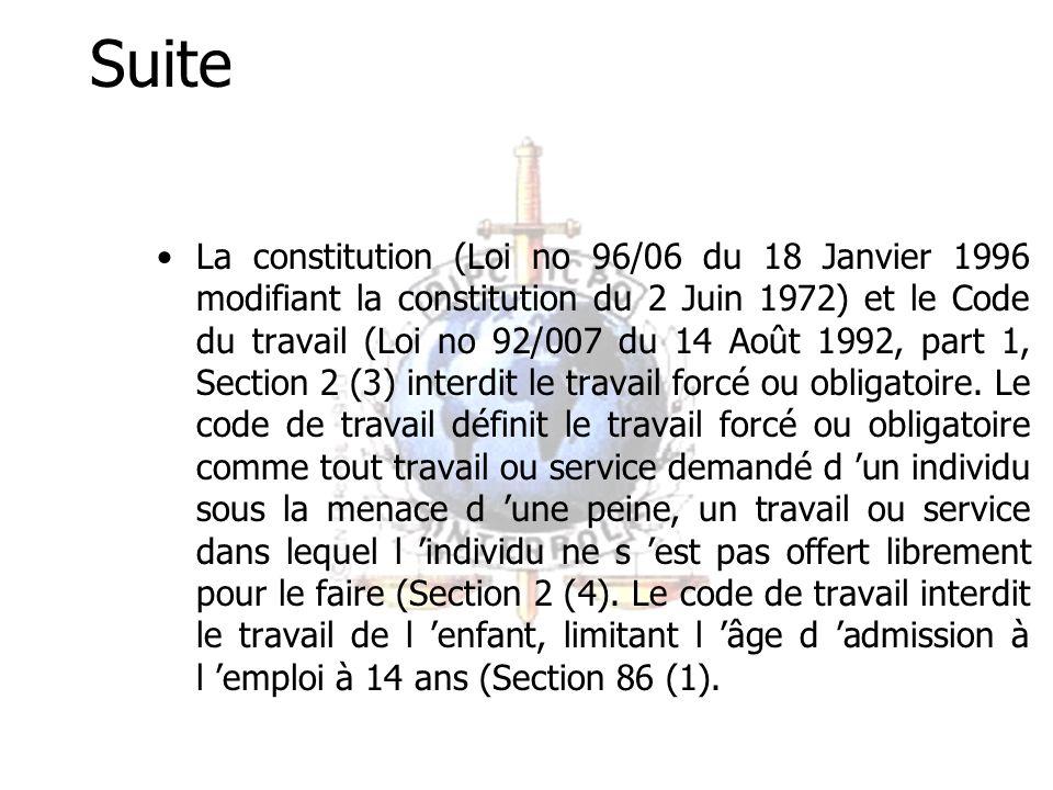 Dispositions Légales exploitables: Le Code Pénal interdit la prostitution des enfants (C.P.