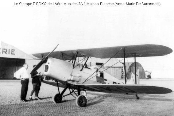 Le Stampe F-BDKQ de lAéro-club des 3A à Maison-Blanche (Anne-Marie De Sansonetti)