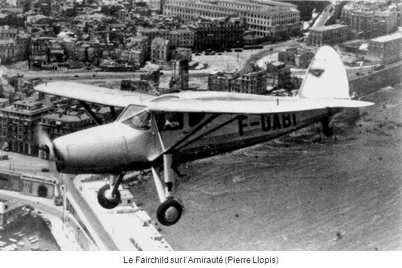 Le Fairchild sur lAmirauté (Pierre Llopis)