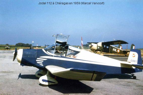 Jodel 112 à Chéragas en 1959 (Marcel Vervoort)