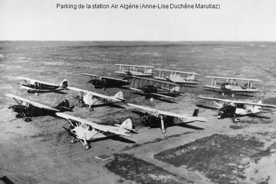Parking de la station Air Algérie (Anne-Lise Duchêne Marullaz)