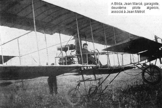 A Blida, Jean Marcé, garagiste, deuxième pilote algérois, associé à Jean Métrot