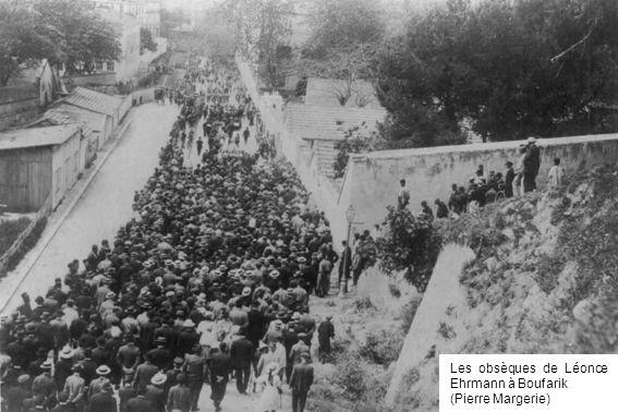 Les obsèques de Léonce Ehrmann à Boufarik (Pierre Margerie)