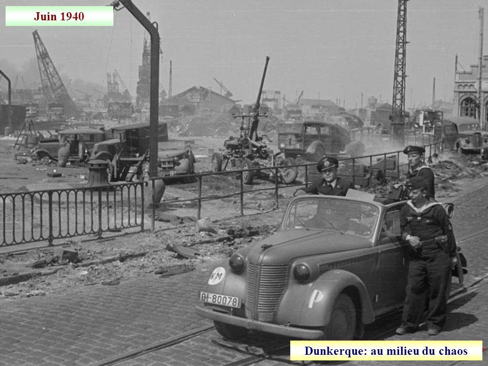 30 mai 1940 Naufrage dans la Manche, lors de lévacuation des troupes franco-britanniques