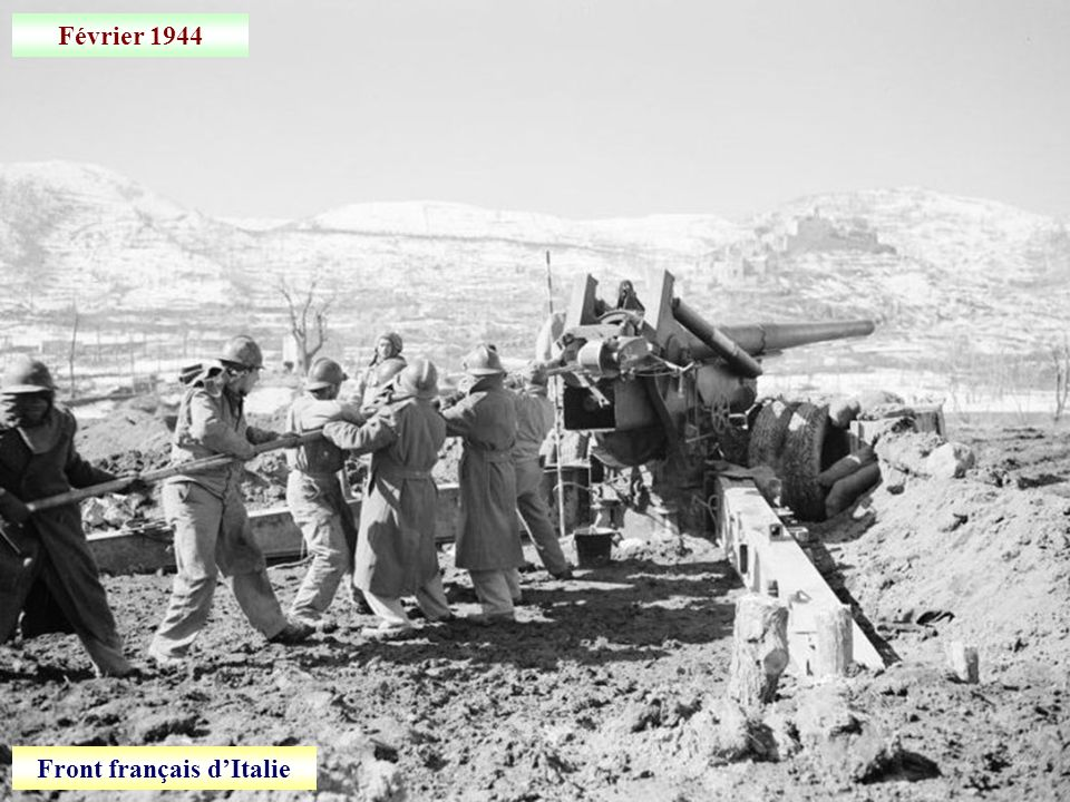 Février 1944 Front français dItalie: Viticuso