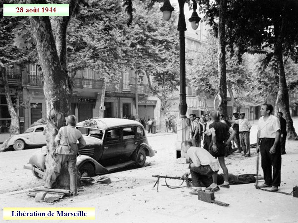 Août 1944 Retraite allemande entre Montélimar et Valence