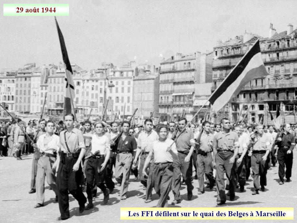 28 août 1944 Libération de Marseille