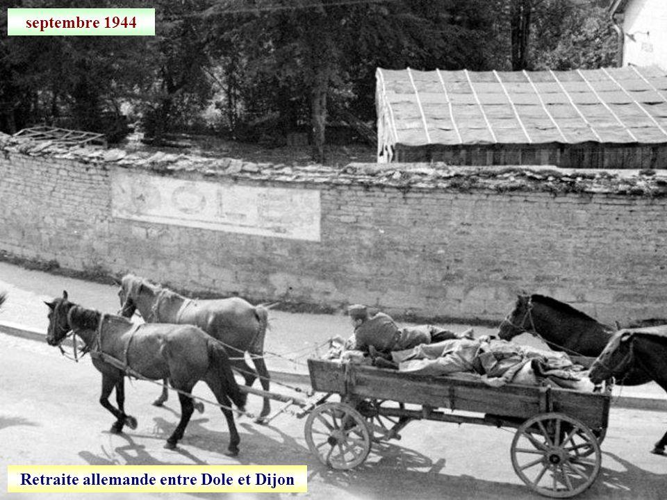 15 septembre 1944 Après la libération de Dijon, visite du général De Lattre