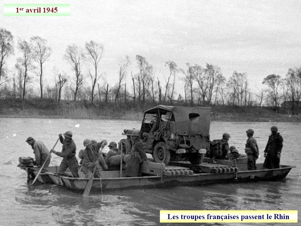 19 mars 1945 Libération de Coblence