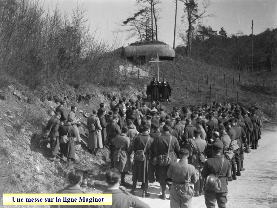 Une messe sur la ligne Maginot