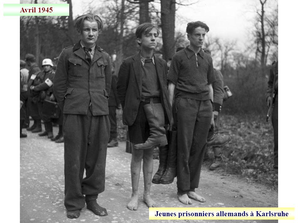 4 avril 1945 Prise de Karlsruhe