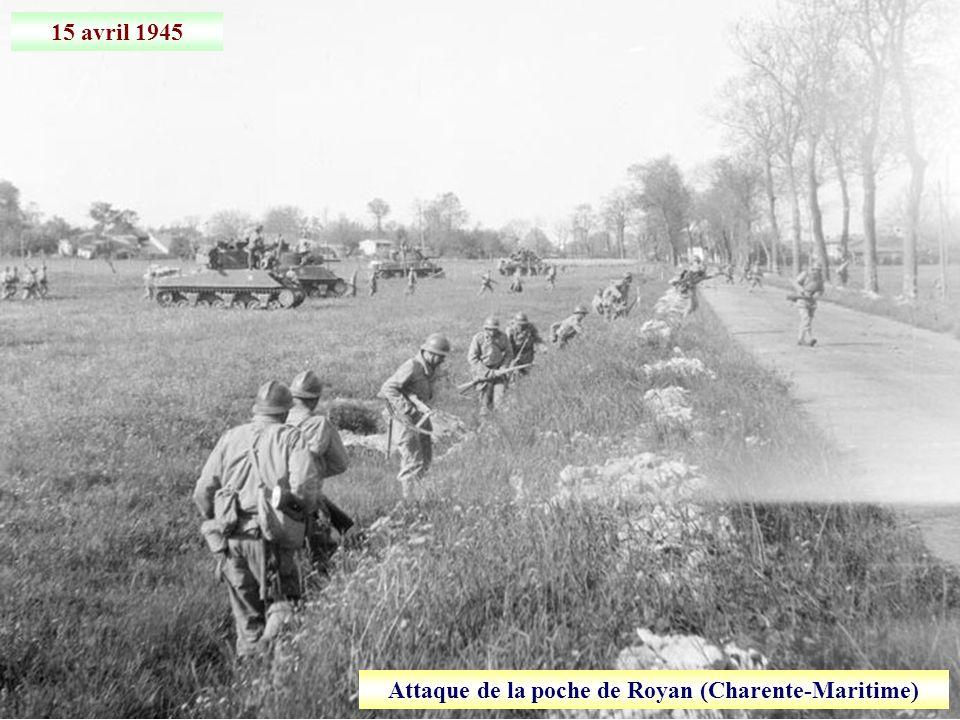 Avril 1945 Volontaires indiens de la Waffen-SS capturés lors de leur fuite vers la Suisse