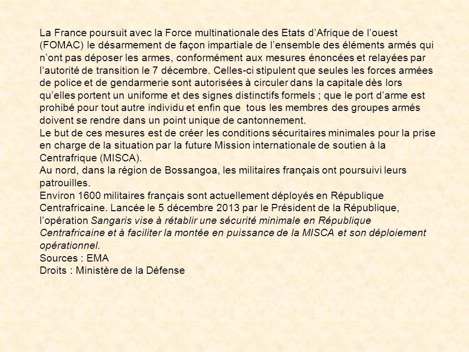 l'aéroport de Bangui (Centrafrique)
