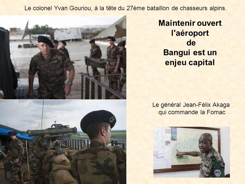 Le 2 octobre 2013, au terme de quatre mois de missions en République Centrafricaine dans le cadre de lopération Boali, une compagnie du 16e bataillon de chasseurs (16e BC) de Bitche a été relevée par une compagnie du 21e régiment dinfanterie de marine (21e RIMa).