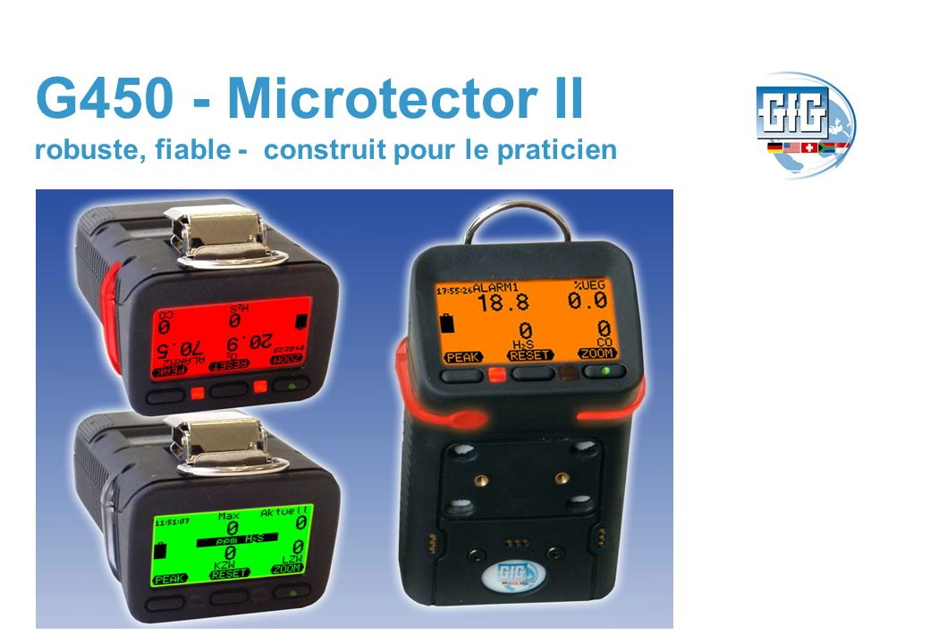 G450 - Microtector II robuste, fiable - construit pour le praticien