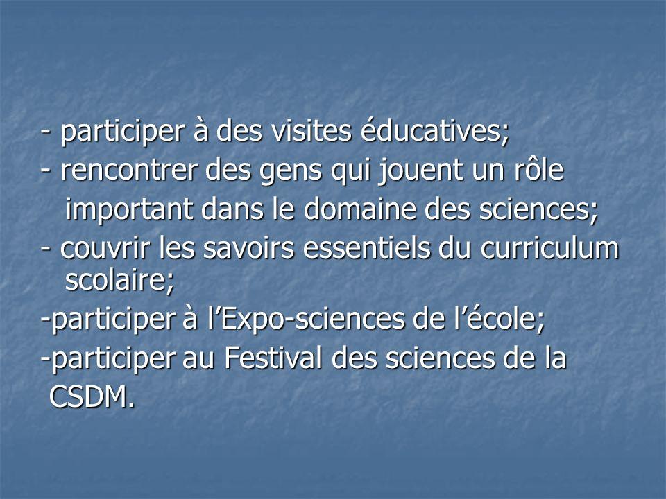 Mme Lise Séguin Directrice générale adjointe Commission scolaire de la Pointe-de-lÎle M.