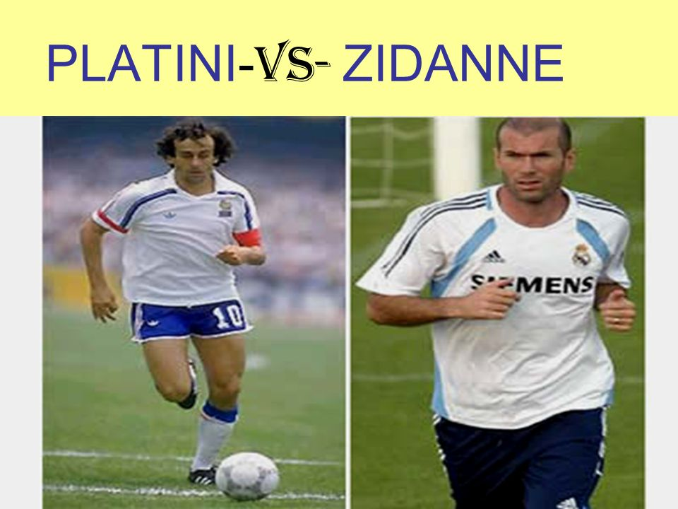 PLATINI- VS- ZIDANNE