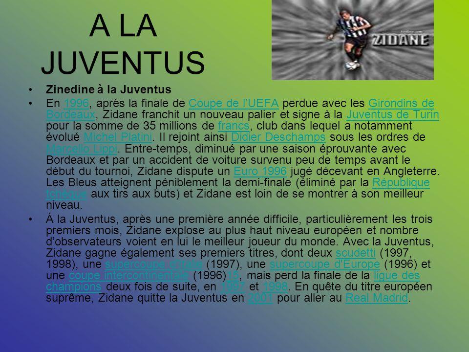 LES DÉBUTS Les débuts Maison du père de Zidane dans le village d'Aguemoune Ath Slimane en Kabylie. Zinedine Zidane est né à Septèmes-les-Vallons et a