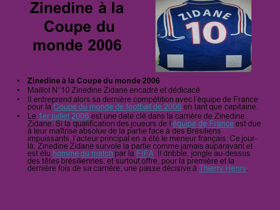 REAL MADRID Zidane a disputé plus de 200 matches sous le maillot du Real de Madrid et a inscrit 35 buts en Liga et 9 buts en Ligue des Champions19.19