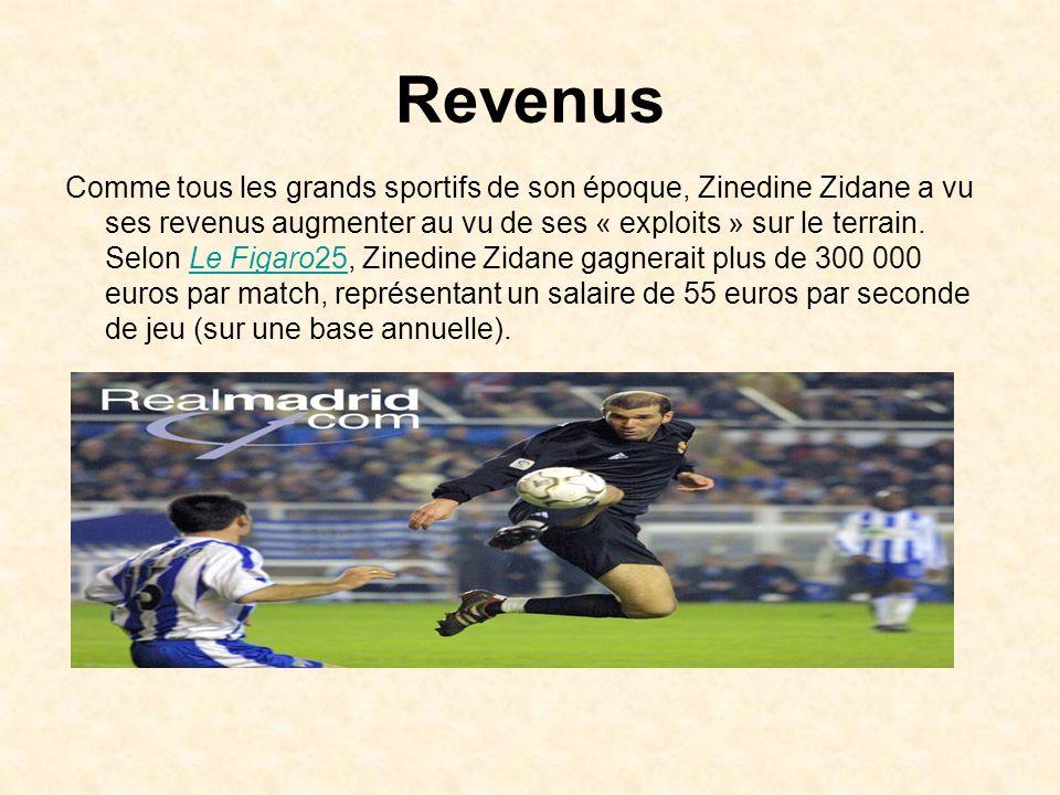 La reconversion de Zinedine Lors de son interview du 25 avril 2006 dans laquelle il a annoncé sa retraite de footballeur, Zidane a d'ores et déjà fait