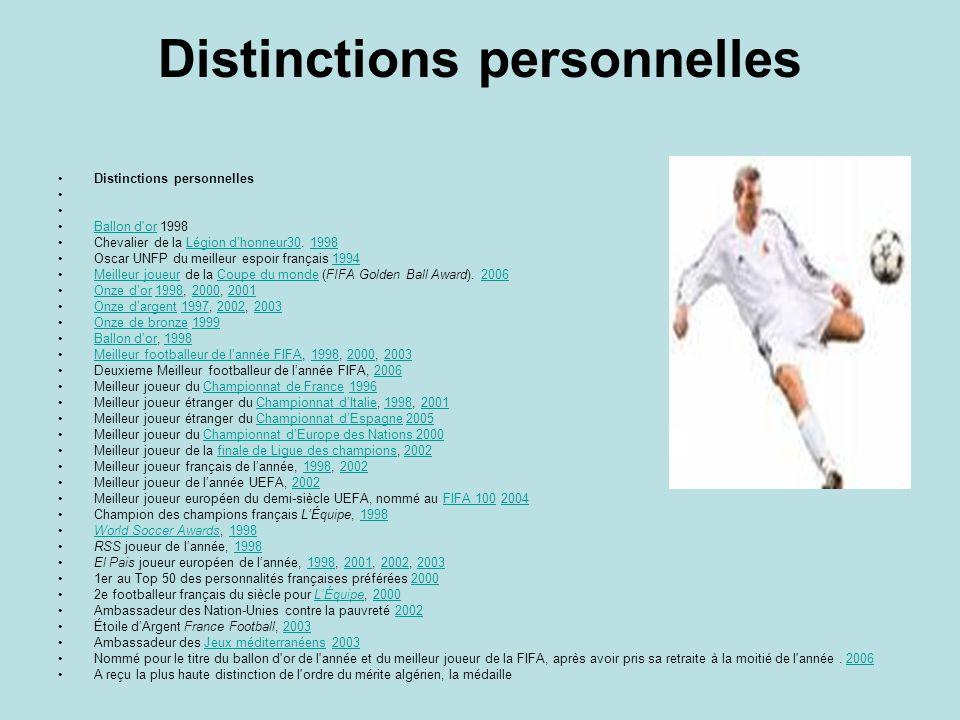 En sélection nationale : 31 buts avec l'équipe de France en 108 sélections (101 fois titulaire, 7 fois remplaçant, 25 fois capitaine).équipe de France