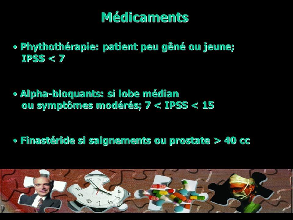Toujours aborder le problème en pensant à la qualité de vie du patient !