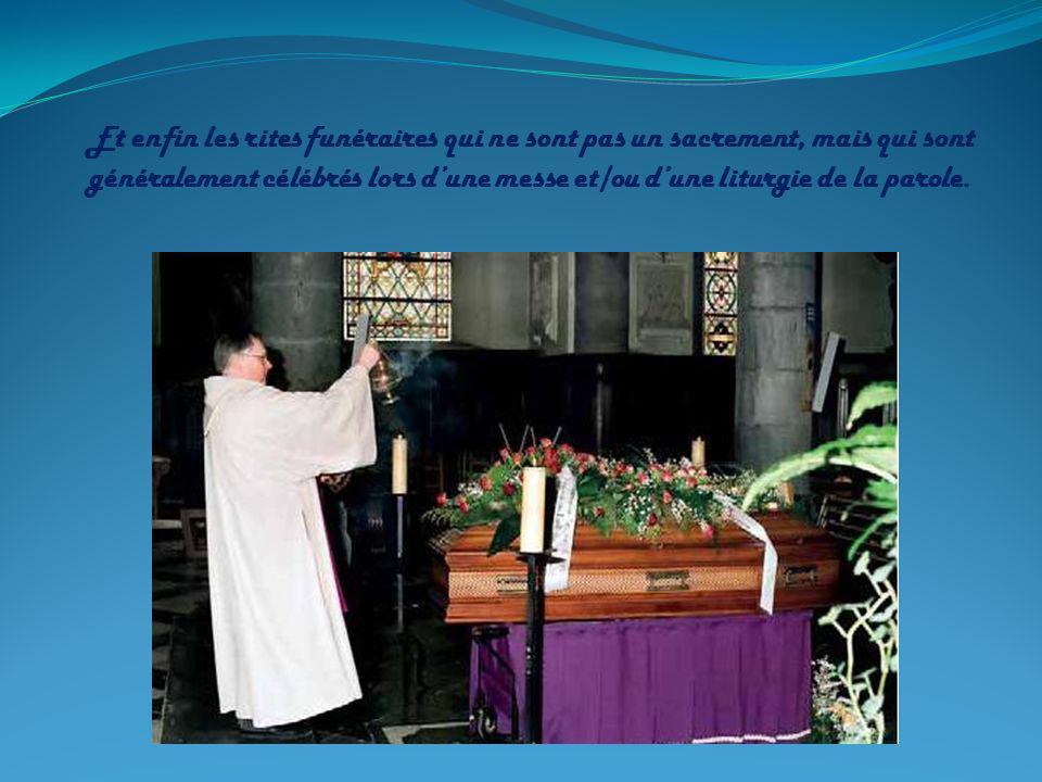 Ordination des Prêtres et des diacres