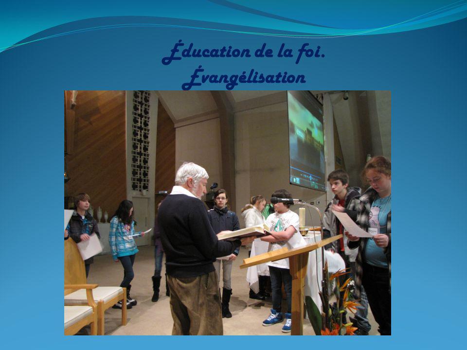 Pastorale de préparation aux sacrements et catéchuménat