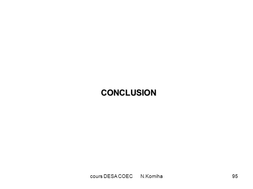 cours DESA COEC N.Komiha95 CONCLUSION