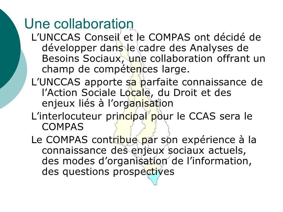Une collaboration LUNCCAS Conseil et le COMPAS ont décidé de développer dans le cadre des Analyses de Besoins Sociaux, une collaboration offrant un champ de compétences large.